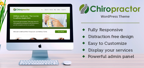 CHIROPRACTOR WORDPRESS THEME