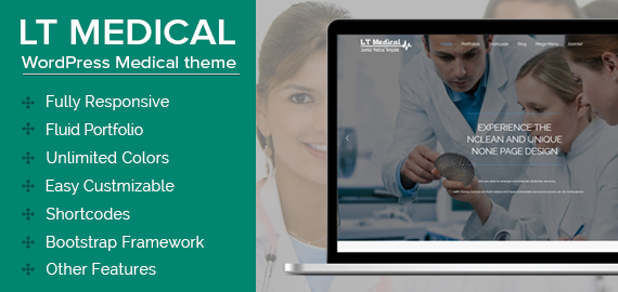 LT MEDICAL - WORDPRESS MEDICAL THEME