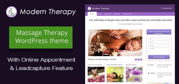 Massage Therapy WordPress Theme
