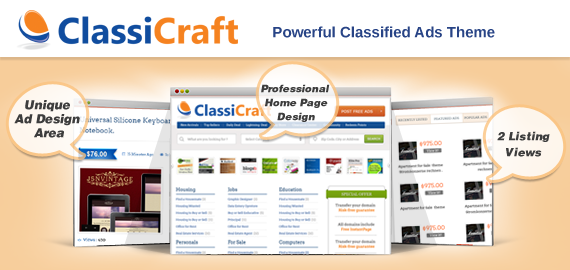 ClassiCraft: Make Money through A Classified Website