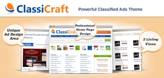 ClassiCraft: Make Money through A Classified Website