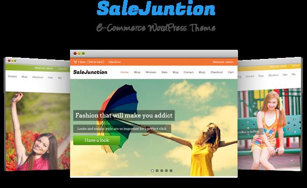 Salejuction Ecommerce WordPress Theme