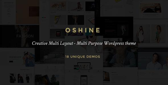 Oshine - Creative Multi-Purpose WordPress Theme 1
