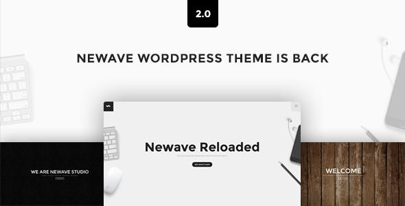 Newave - WordPress Responsive One Page Parallax 1