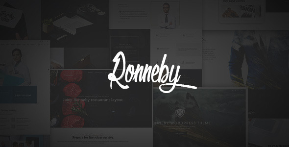 Ronneby - High-Performance WordPress Theme 1