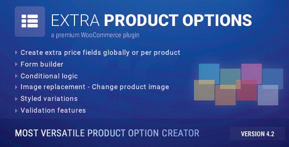 WooCommerce Extra Product Options 1