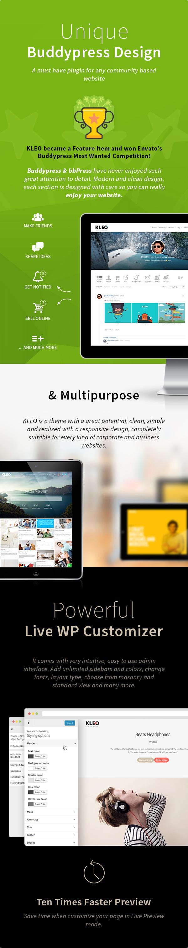 KLEO – Next level WordPress Theme 2