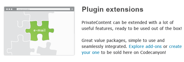 Plugin extensions