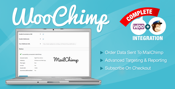 WooChimp - WooCommerce MailChimp Integration 1