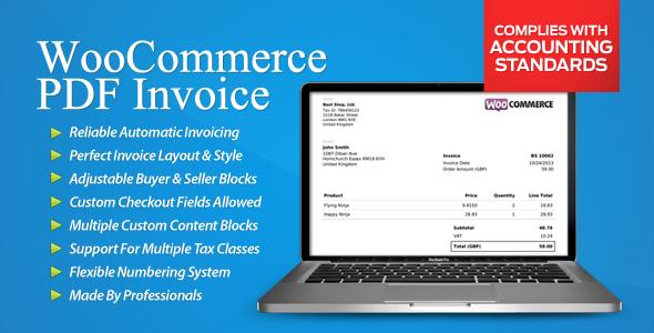 WooCommerce PDF Invoice 1