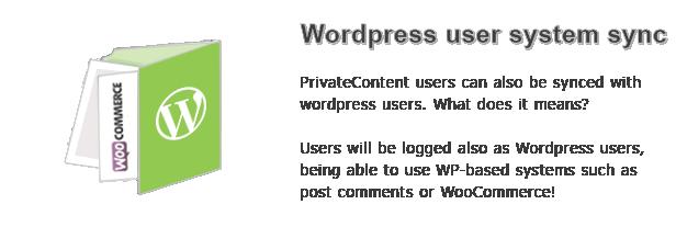 Wordpress user system sync