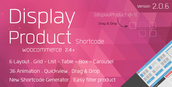 Display Product - Multi-Layout for WooCommerce 1