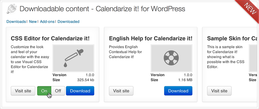 Calendarize it! for WordPress 2