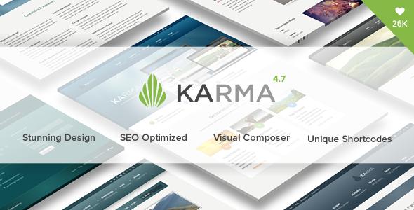 Karma - Responsive WordPress Theme 1