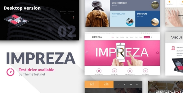 Impreza - Retina Responsive WordPress Theme 1