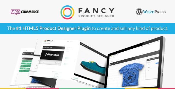 Fancy Product Designer - WooCommerce plugin 1