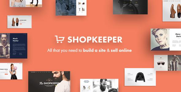 Shopkeeper - Responsive WordPress Theme 1