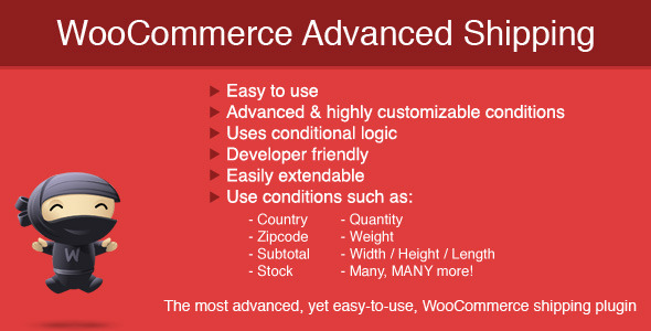 WooCommerce Advanced Shipping 1