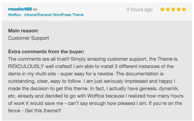 Woffice - Intranet/Extranet WordPress Theme Reviews