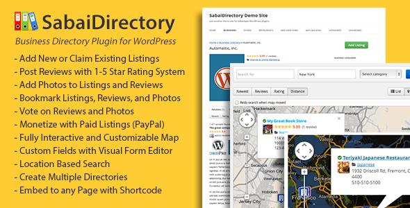 Sabai Directory plugin for WordPress 1