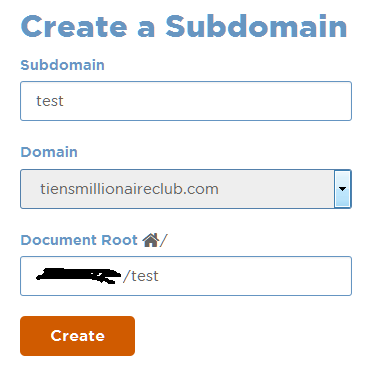 How To Create Subdomain in cPanel 1