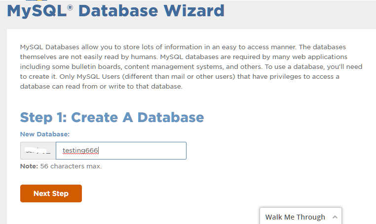 How to Configure MySQL in cPanel 1