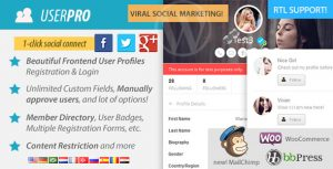 UserPro - Best Wordpress Membership Plugin