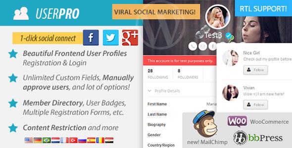 UserPro - Best Wordpress Membership Plugin