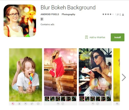 How to take bokeh photos with android 1