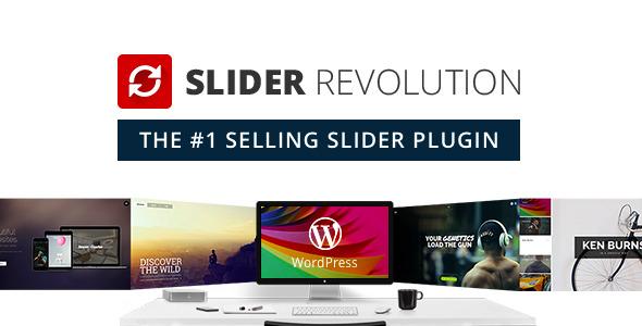 Slider Revolution Responsive WordPress Plugin 1