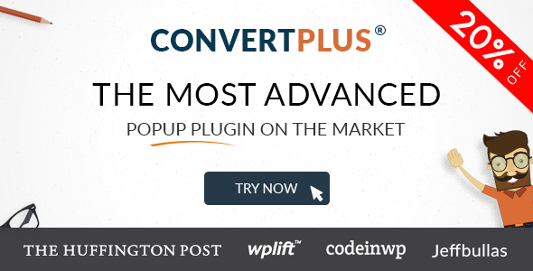 Popup Plugin For WordPress - ConvertPlus 1