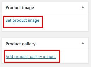 Set product image