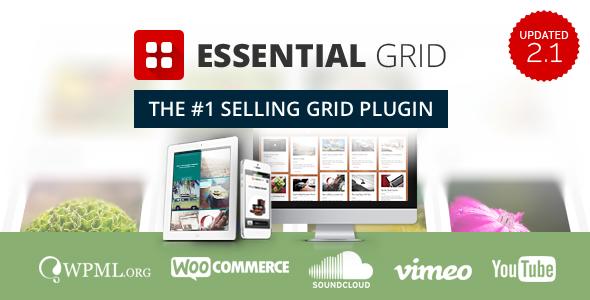 Essential Grid WordPress Plugin 1