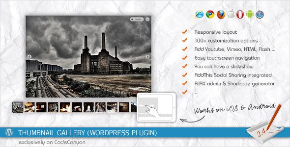Thumbnail Gallery (WordPress Plugin) 1